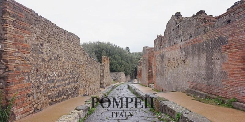 2021龐貝Pompeii自由行全攻略|交通、門票、住宿、行程規劃。維蘇威火山那消失的城市