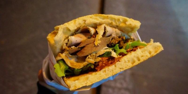 【佛羅倫斯平價美食】All'Antico Vinaio排隊名店,5€吃到比臉還大的三明治!