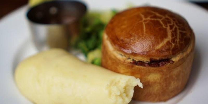 【倫敦傳統美食】Blackbird道地英國餡餅派,滿滿肉汁超好吃!