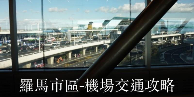 【羅馬市區到機場交通】Leonardo express機場快綫、火車、公車、Uber比較實搭經驗
