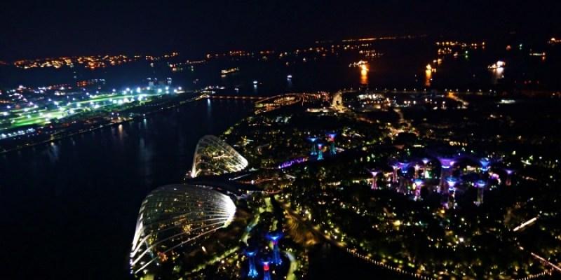 新加坡景點 金沙酒店空中花園特價門票、入口交通,不進酒吧也有百萬夜景
