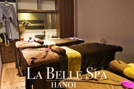 河內按摩推薦|連鎖高級La Belle Spa,超舒服的精油身體按摩