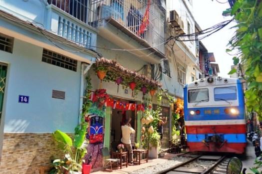 河內景點 最新火車街地點、時刻表、咖啡廳推薦,別再去老城區的那個囉!