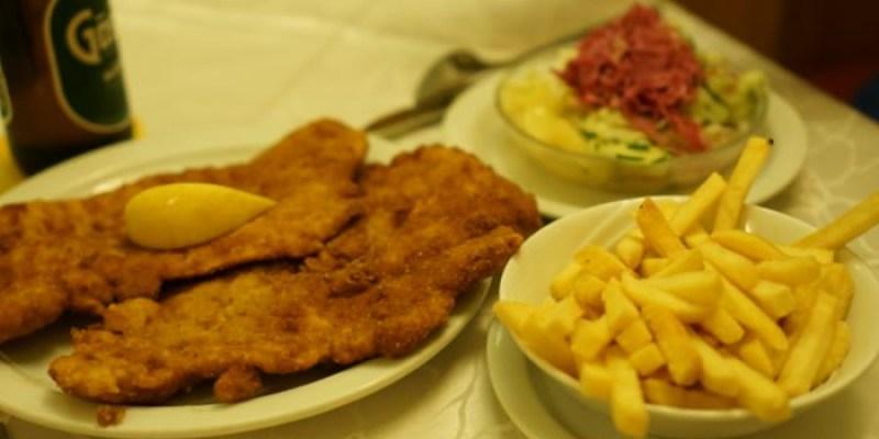 【維也納美食推薦】Schnitzelwirt比臉還大的炸豬排,10歐有找超便宜