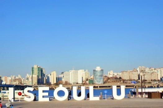 首爾景點|汝矣島漢江公園여의도공원,春天賞櫻秋天賞楓的好地方