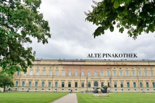【慕尼黑景點】老繪畫陳列館Alte Pinakothek門票、開放時間,週日只要€1