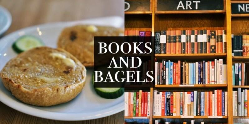 【柏林早午餐】Books and Bagels書與貝果,書店咖啡廳傻傻分不清楚