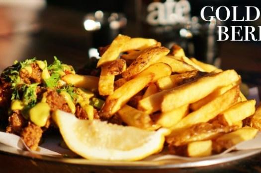 【柏林美食】Goldies薯條界的米其林料理,松露薯條炸雞都好吃