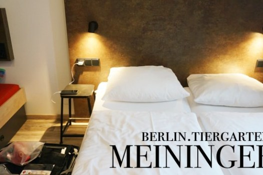 【柏林飯店推薦】MEININGER Tiergarten梅寧格酒店,交通方便房間大