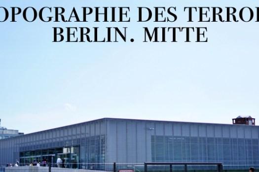 【柏林免費景點】恐怖地形圖Topographie des Terrors,蓋世太保大屠殺的證據