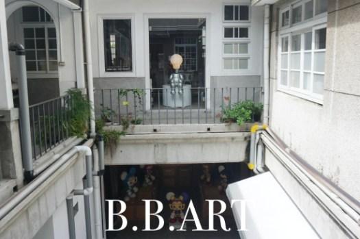 台南藝廊|B.B.ART Gallery,老百貨改建展演空間與咖啡廳
