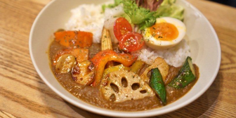 台電大樓美食|小仺館Cafe & Rice咖哩飯,好吃又可愛的排隊名店