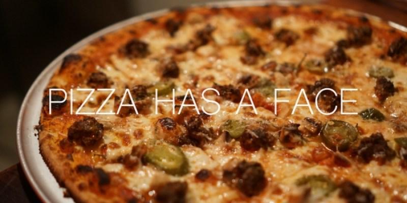 北門迪化街美食 披薩有張臉Pizza Has a Face,大稻埕很酷的一間店