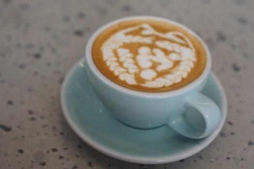 松江南京咖啡廳|PARC泊咖啡,拉花好美的自家烘焙平價咖啡店