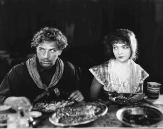 Lars Hanson and Lillian Gish