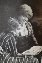 Lillian Gish and Mary Robinson McConnell (Mother)