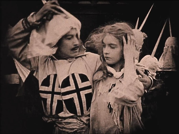 the birth of a nation - lillian gish - elsie stoneman rescued