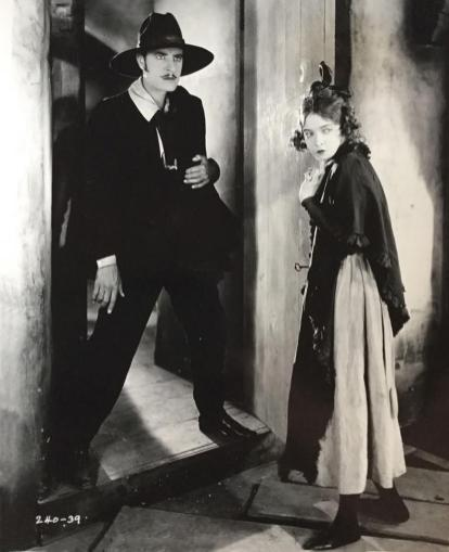 Lillian Gish and John Gilbert - La Boheme