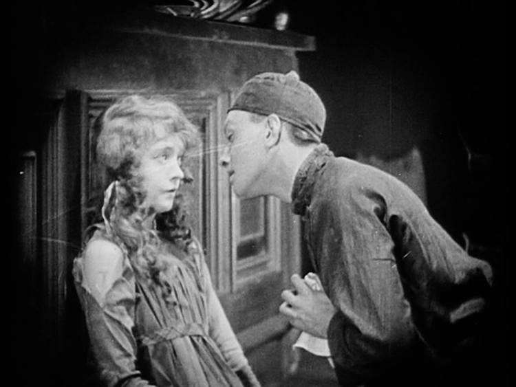 Lillian Gish and Richard Barthelmess - Broken Blossoms