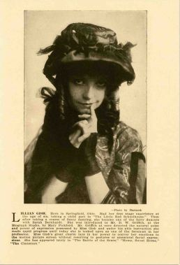 Lillian Gish Promotional Hartsook - The Clansman (The Birth of a Nation)