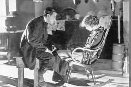 """Way Down East"" - Richard Barthelmess and Lillian Gish"