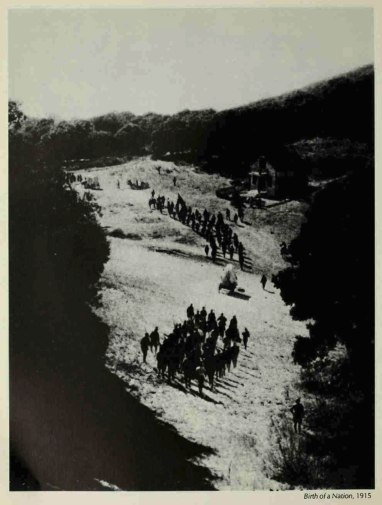 Birth of a Nation 1915 - Army maneuvres