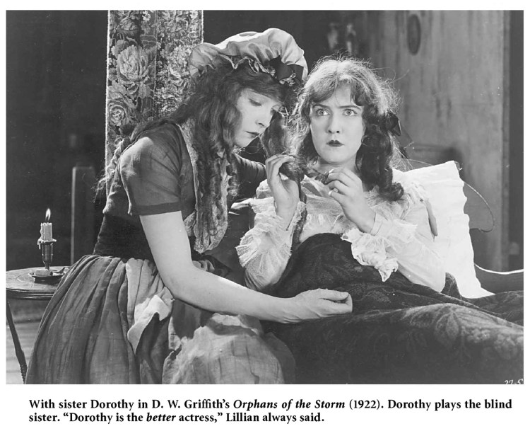 Lillian Gish and Dorothy Gish Henriette and Louise (Orphans of The Storm)