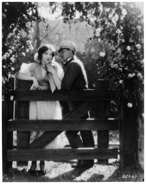 Lillian Gish, Ralph Forbes silent film The Enemy orp