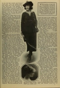 Photoplay (Aug 1918) Real Lillian Gish 2