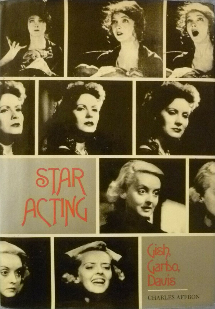 Star Acting Gish Garbo Davis 1977 cover