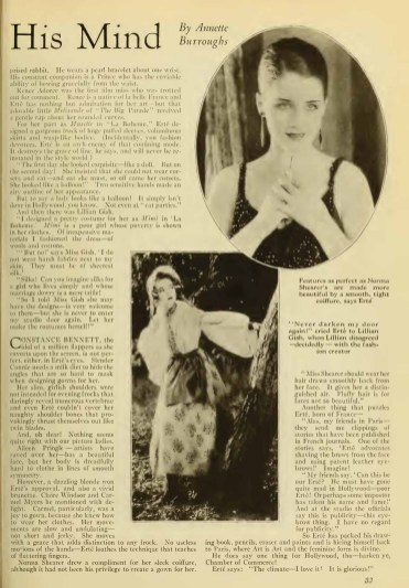 Photoplay (Feb 1926) Erte Speaks 1