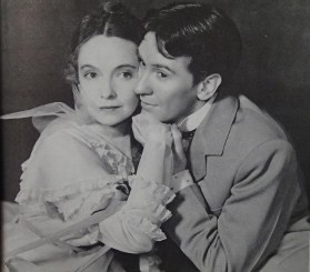Lillian Gish and Burgess Meredith - The Star-Wagon