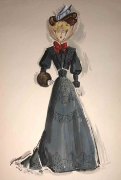 Edith Head Costume Sketch for Miss Susie Slagle 3