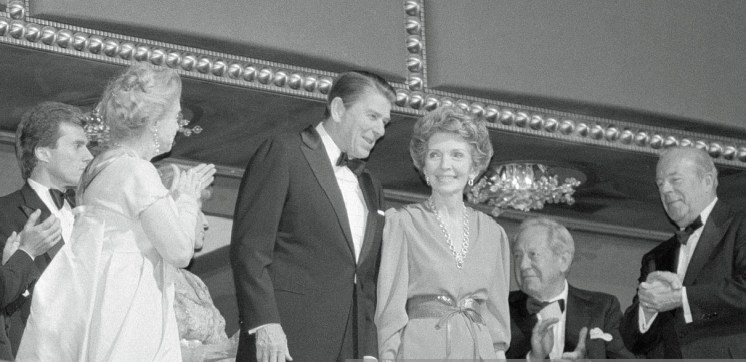 Reception at the Kennedy Center for the 1982 recipients of the Kennedy Center Honors