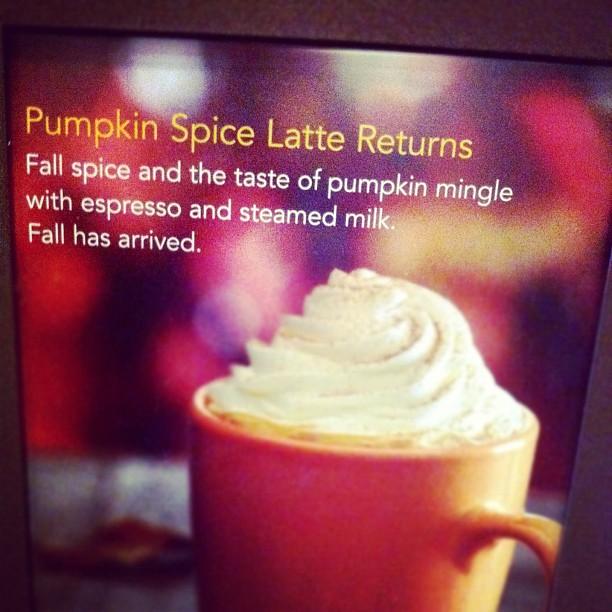 Pumpkin Spice Lattes – Hold the Pumpkin
