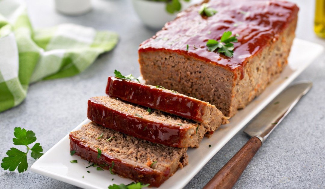 This Top Rated Meatloaf is Sure to Please!