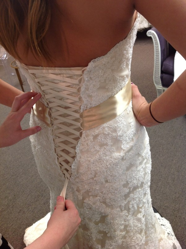 How To Lace up a Corset Back Lillian Lottie Couture