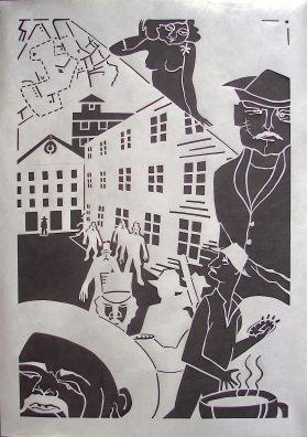 Lillian Trettin - narrative paper cut