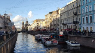 St Petersburg & The Spilled Blood Cathedral