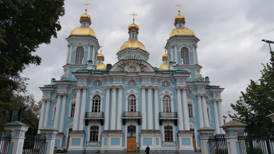 St. Nicholas Naval Cathedral in SPB