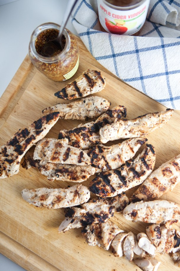 Every Day Garlic Dijon Grilled Chicken