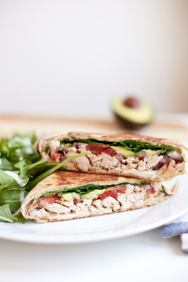 Low Carb/High Protein Chicken Pepperjack Crunch Wrap www.lillieeatsandtells.com