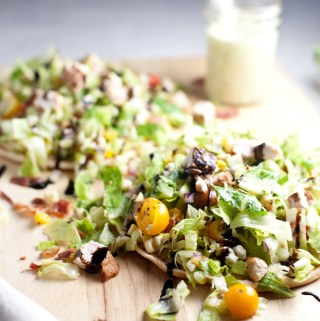 BLT Salad Flatbread