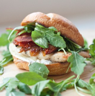 Roasted Tomato Basil Chicken Sandwich