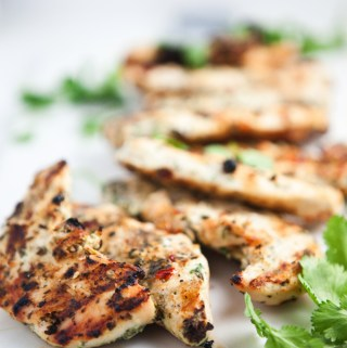 Sweet Chili Glazed Cilantro Grilled Chicken