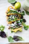 Light Instant Pot Carnitas Tacos www.lillieeatsandtells.com