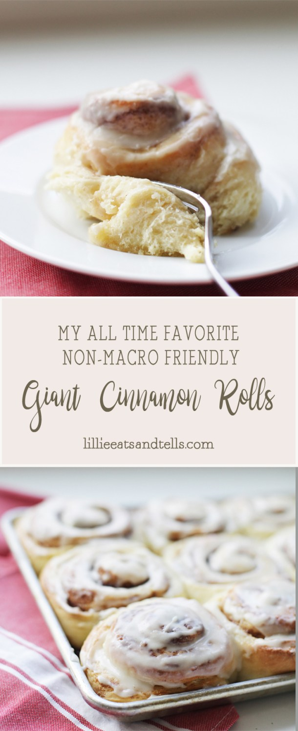 Our Favorite Giant Cinnamon Rolls www.lillieeatsandtells.com