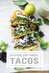 photo of tacos with text