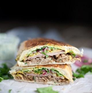 10 Minute Skinny Cuban Sandwich