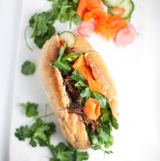 Instant-Pot Healthy Banh Mi Sandwich